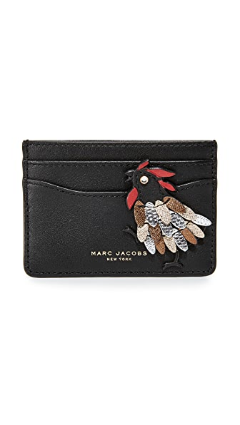 Marc Jacobs Fire Rooster Card Case