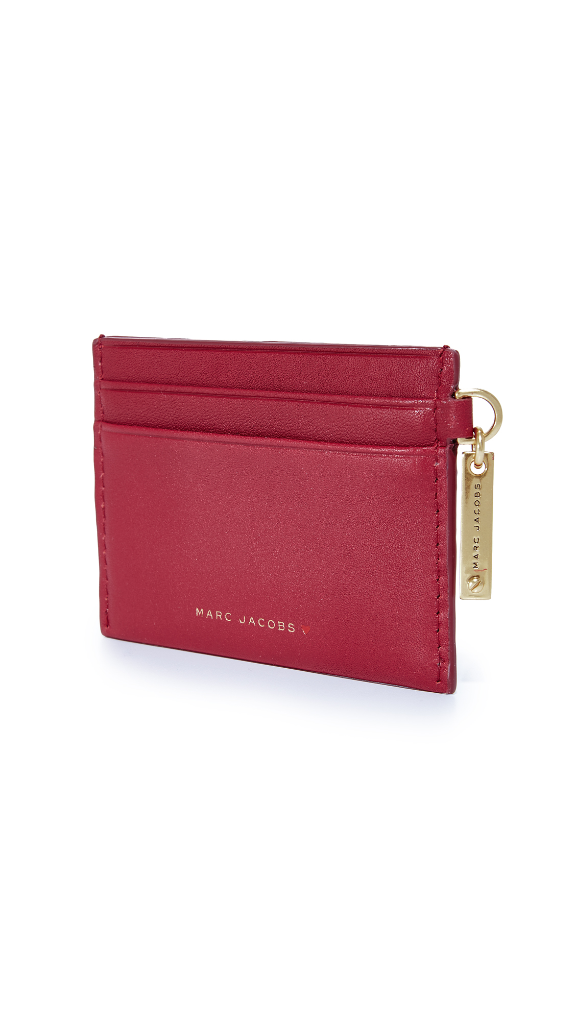 Marc Jacobs Stitched Hearts Card Case | SHOPBOP