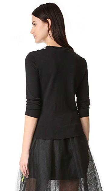 Marc Jacobs Scoop Crew Neck Sweater