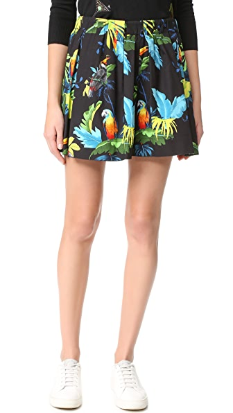 Marc Jacobs Parrot Poplin Shorts