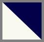 Navy/Off White