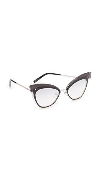Marc Jacobs Layers Cat Eye Sunglasses