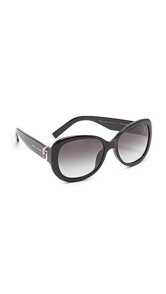 Marc Jacobs Oval Sunglasses