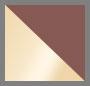 Rose Gold/White Satin/Cement