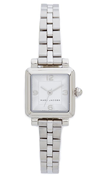 Marc Jacobs Vic Watch - Sterling Silver/Silvery White
