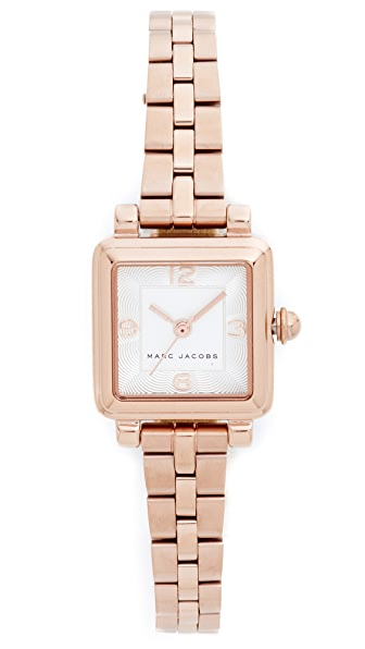 Marc Jacobs Vic Watch - Rose Gold/Silvery White