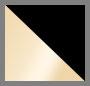 Gold/Silvery White/Black