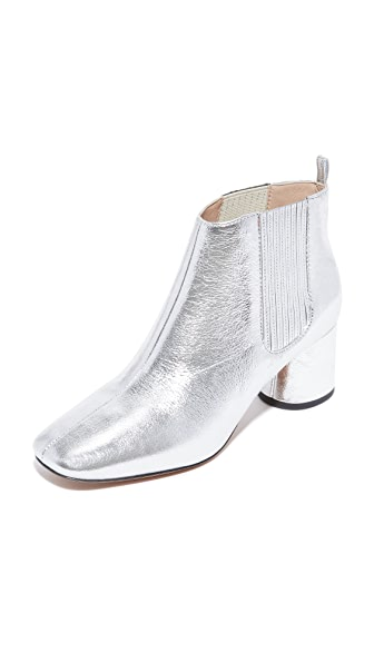 Marc Jacobs Rocket Chelsea Booties - Silver