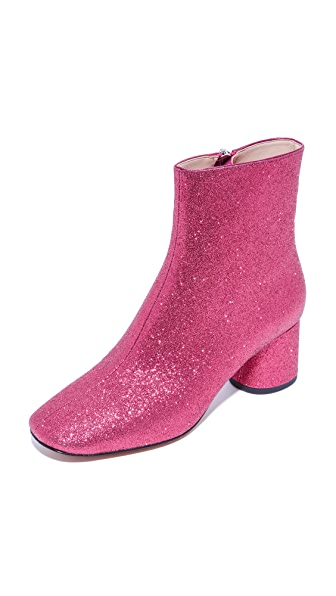Marc Jacobs Valentine Ankle Booties - Pink