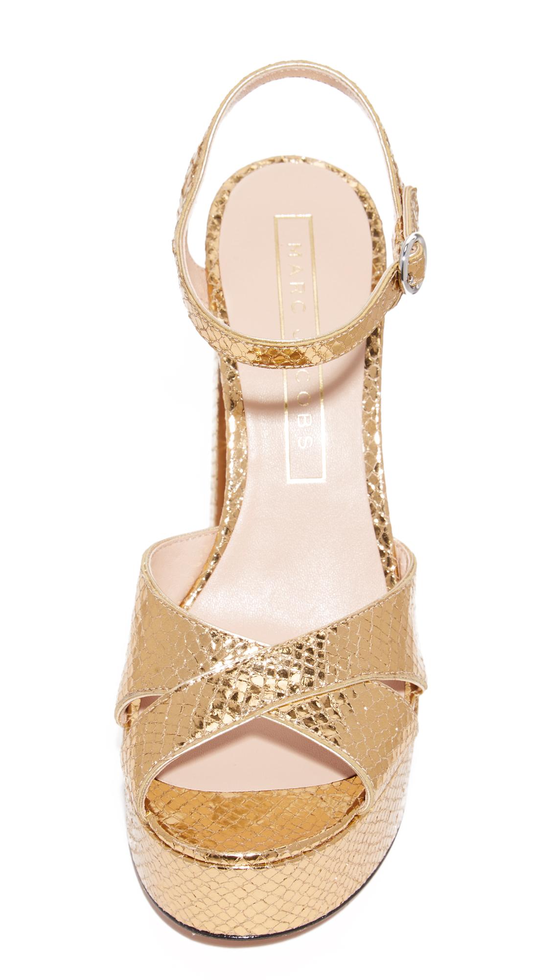 31fbefa8bddd Marc Jacobs Lust Platform Sandals