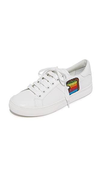 Marc Jacobs Empire Toast Low Top Sneakers - White Multi