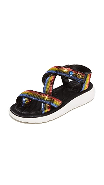 Marc Jacobs Comet Sport Sandals - Rainbow