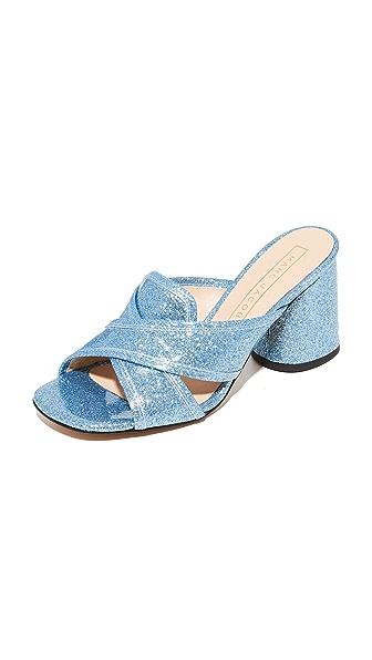Marc Jacobs Aurora Mules - Light Blue