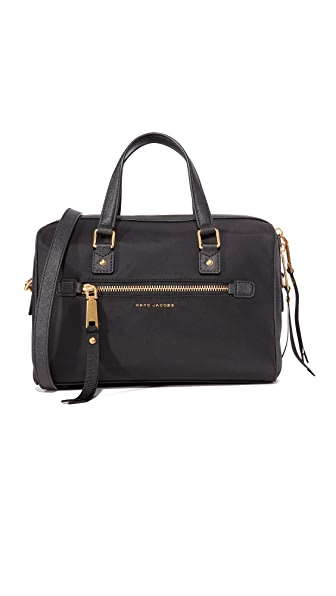 Marc Jacobs Trooper Bauletto Satchel - Black
