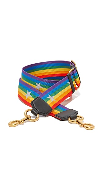 Marc Jacobs Rainbow Handbag Strap With Stars