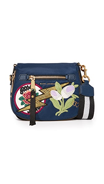 Marc Jacobs Nylon Patchwork Small Nomad Saddle Bag