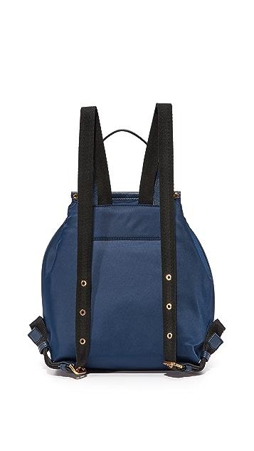 Marc Jacobs Embellished Nylon Zip Pack Backpack