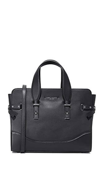 Marc Jacobs Rivet Satchel - Black
