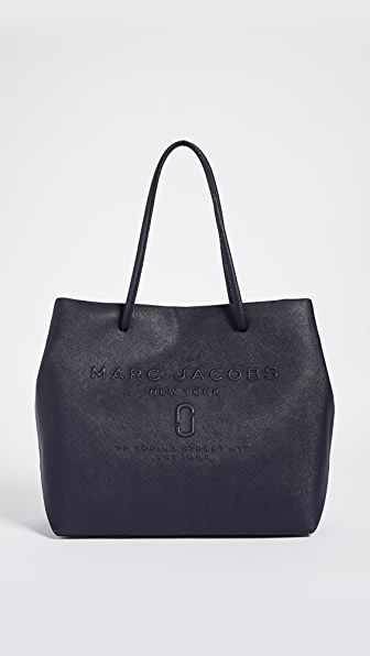 Marc Jacobs Logo Shopper Tote - Midnight Blue