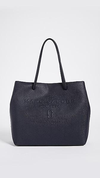 Marc Jacobs Logo Shopper Tote - Midnight Blue