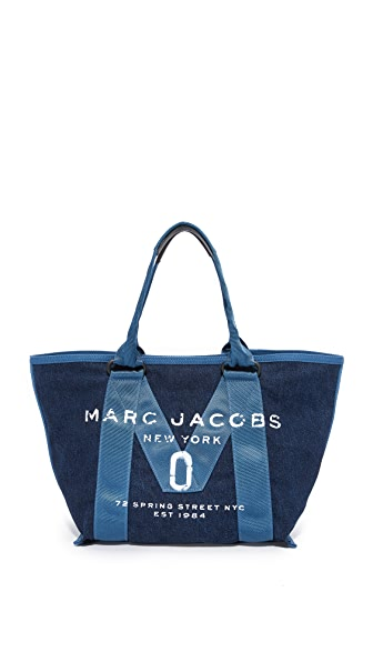 Marc Jacobs New Logo Small Denim Tote - Denim