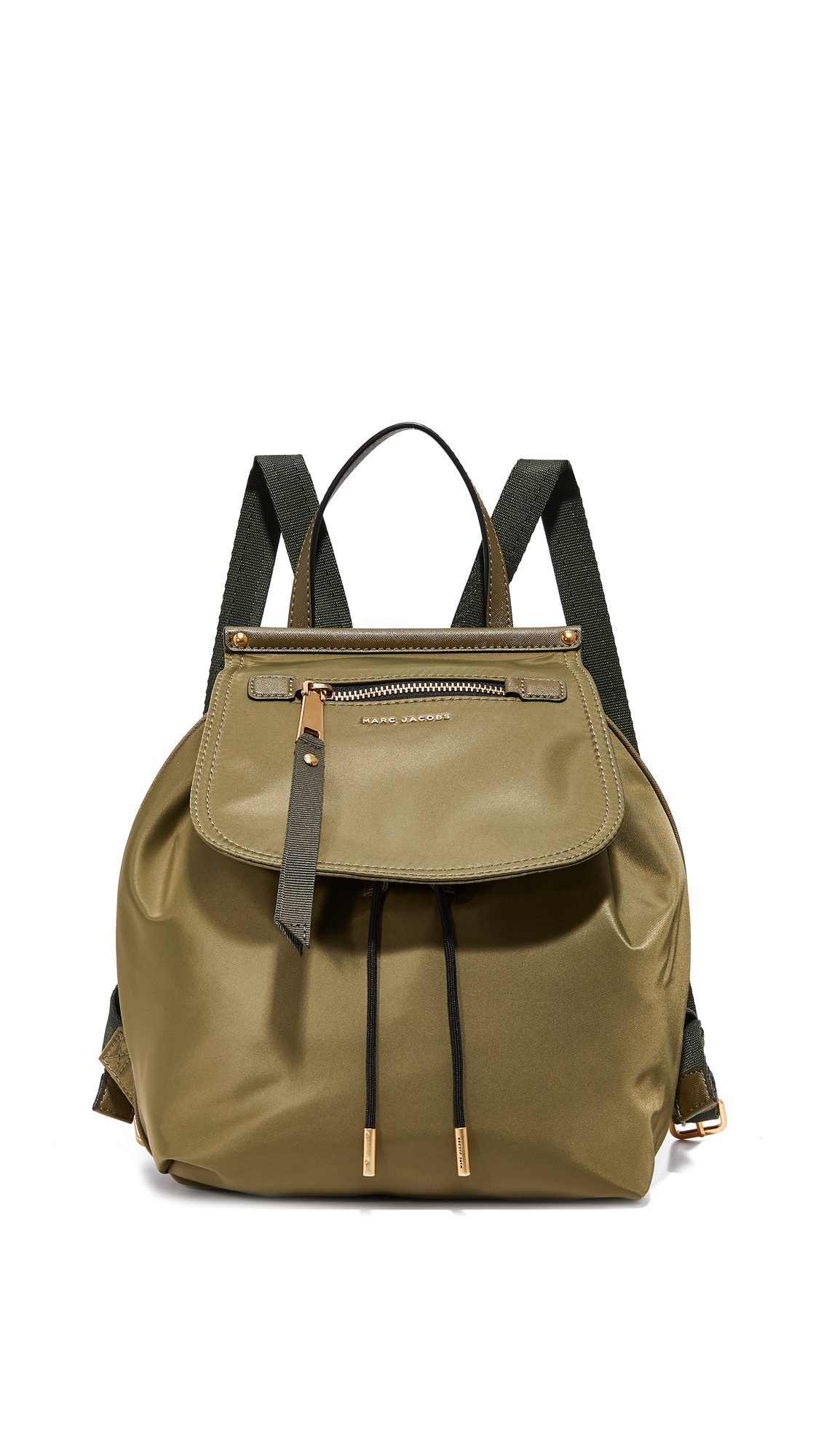 marc jacobs female marc jacobs trooper backpack army green