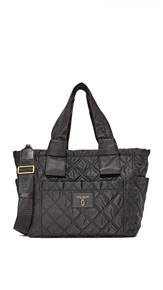 Marc Jacobs Nylon Knot Baby Bag In Black