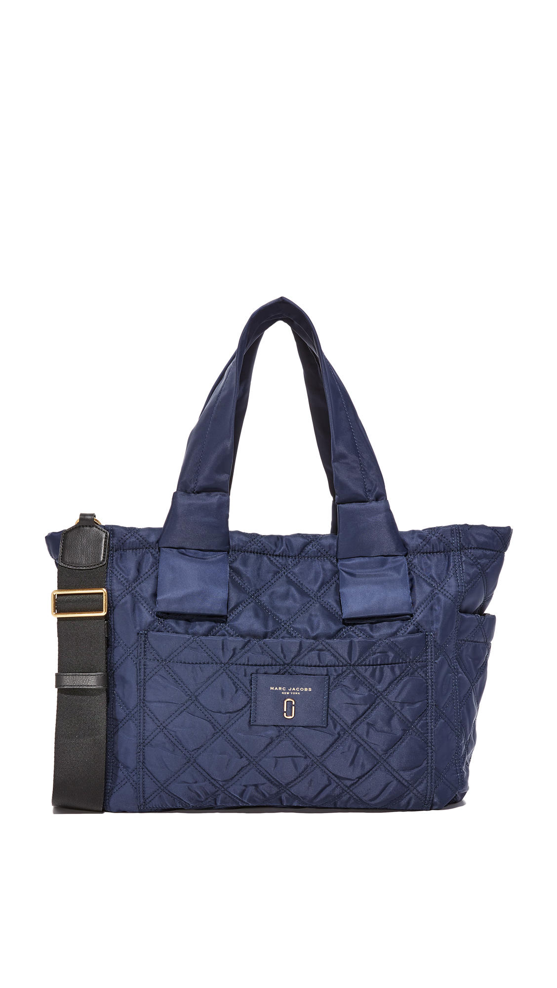 marc jacobs female marc jacobs nylon knot baby bag midnight blue