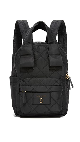 Marc Jacobs Nylon Knot Backpack - Black