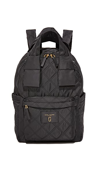 Marc Jacobs Nylon Knot Large Backpack - Black