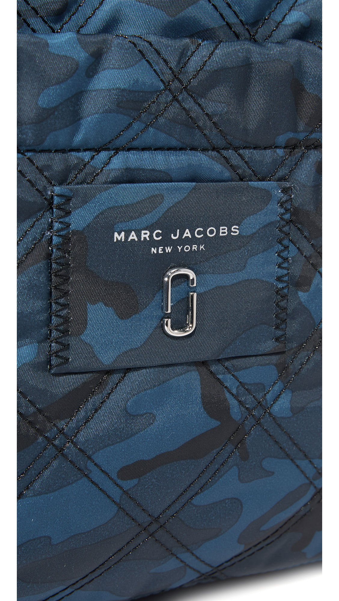 dcb8bc2d9f82 Marc Jacobs Camo Nylon Knot Baby Bag