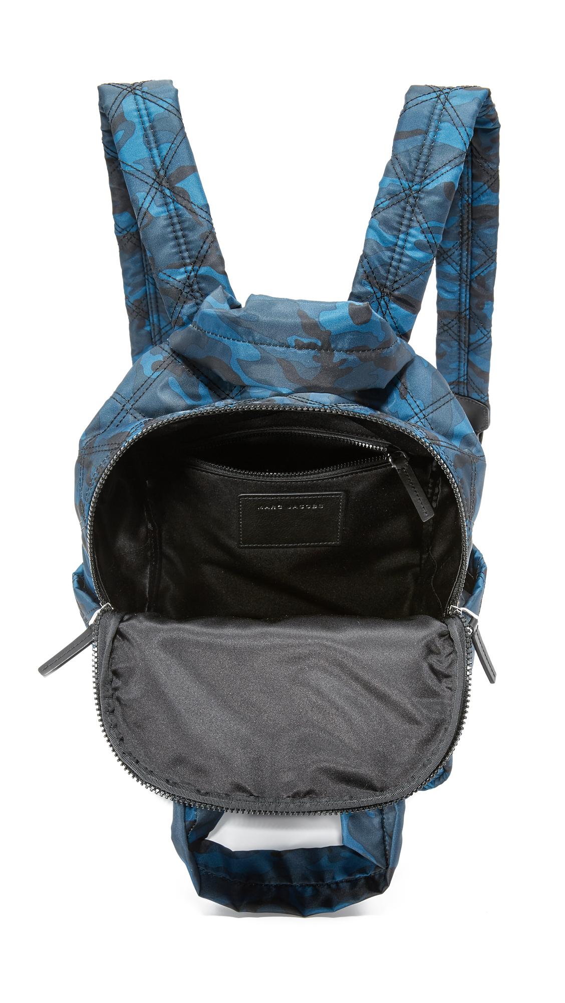 518c2575c223 Marc Jacobs Camo Nylon Knot Backpack