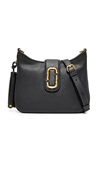 Marc Jacobs Interlock Small Hobo Bag - Black