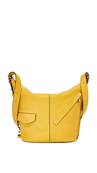 Marc Jacobs Sling Convertible Shoulder Bag In Canary