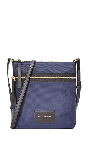 Marc Jacobs Nylon Biker Cross Body Bag - Midnight Blue