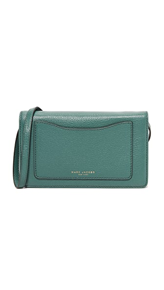 Marc Jacobs Recruit Cross Body Wallet