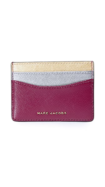 Marc Jacobs Трехцветная визитница