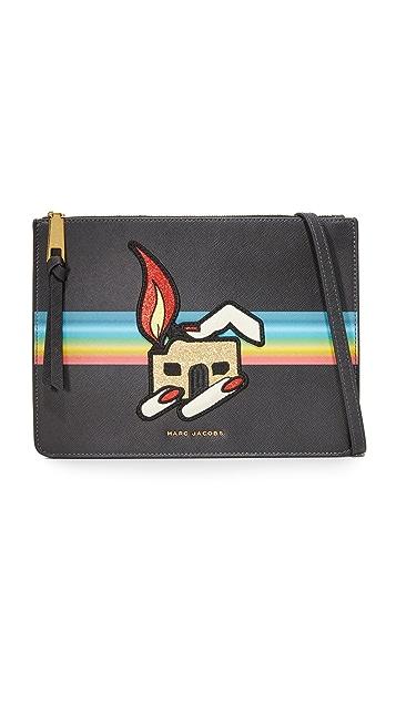 Marc Jacobs Flat Cross Body Bag