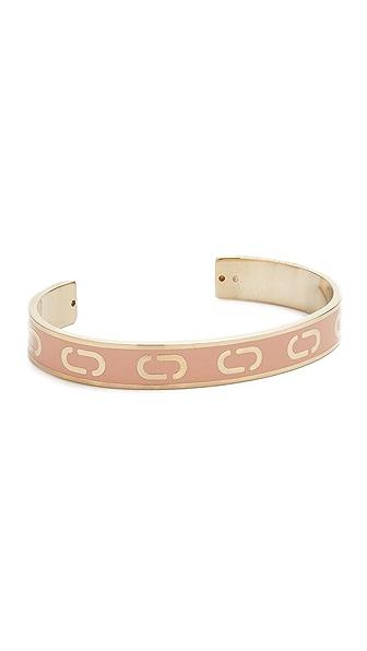Marc Jacobs Icon Enamel Cuff Bracelet