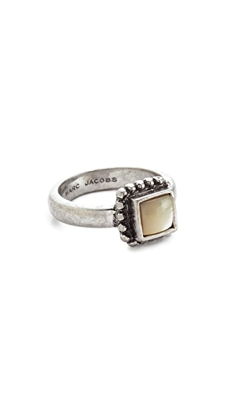 Marc Jacobs Protection Ring - Ivory