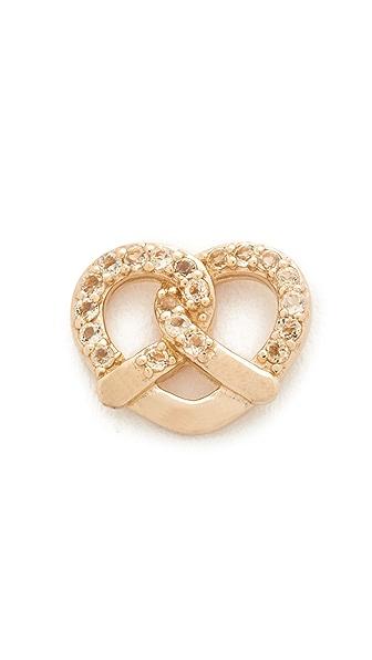 Marc Jacobs Pretzel Single Stud Earring