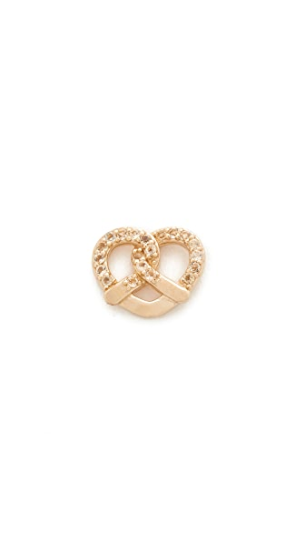 Marc Jacobs Pretzel Single Stud Earring