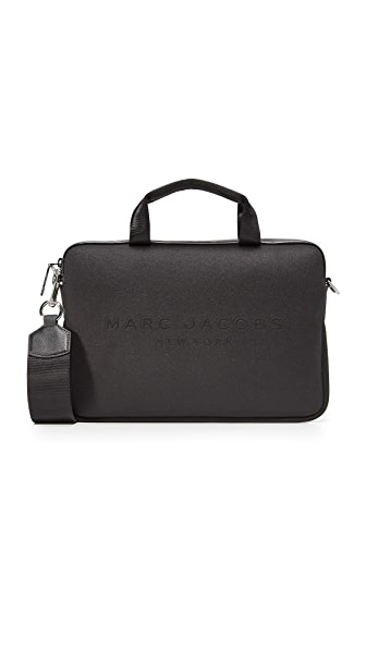 "Marc Jacobs 11"" Neoprene Commuter Case - Black"