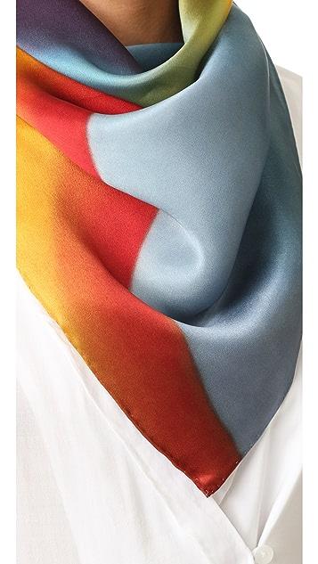 Marc Jacobs Rainbow Scarf