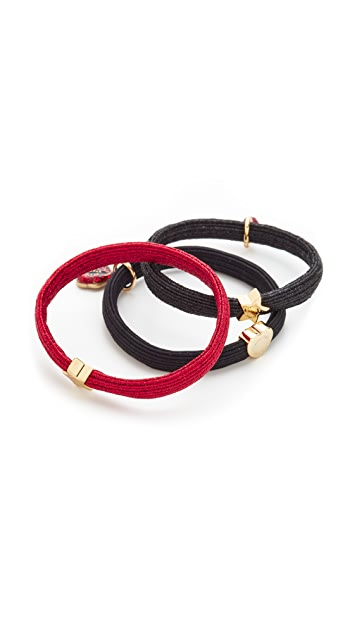 Marc Jacobs Lips In Lips Ponytail Holder