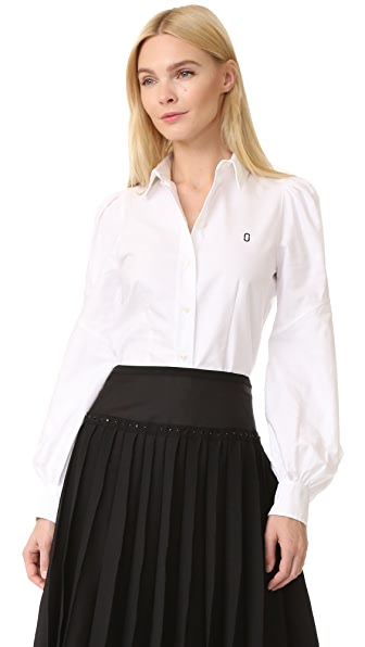 Marc Jacobs Bishop Sleeve Button Down