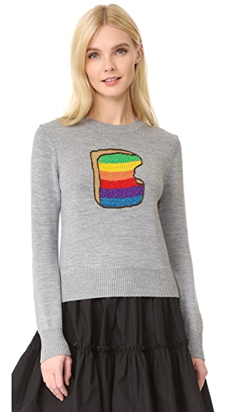 Marc Jacobs Rainbow Toast Sweater