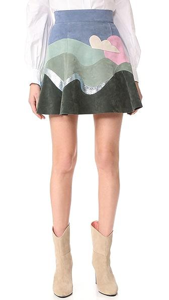 Marc Jacobs Расклешенная юбка