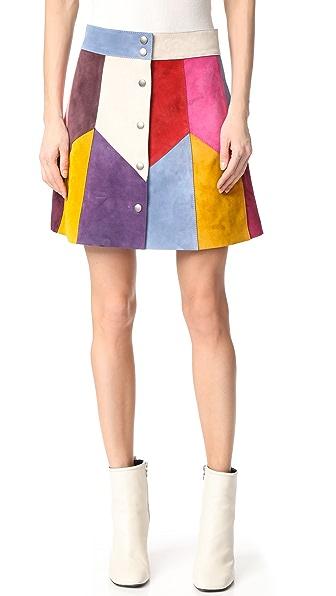 Marc Jacobs Юбка Rainbow с различными расцветками