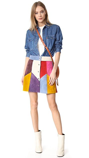 Marc Jacobs Rainbow Multi Skirt